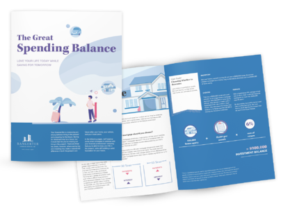 The Great Spending Balance Beauty shot